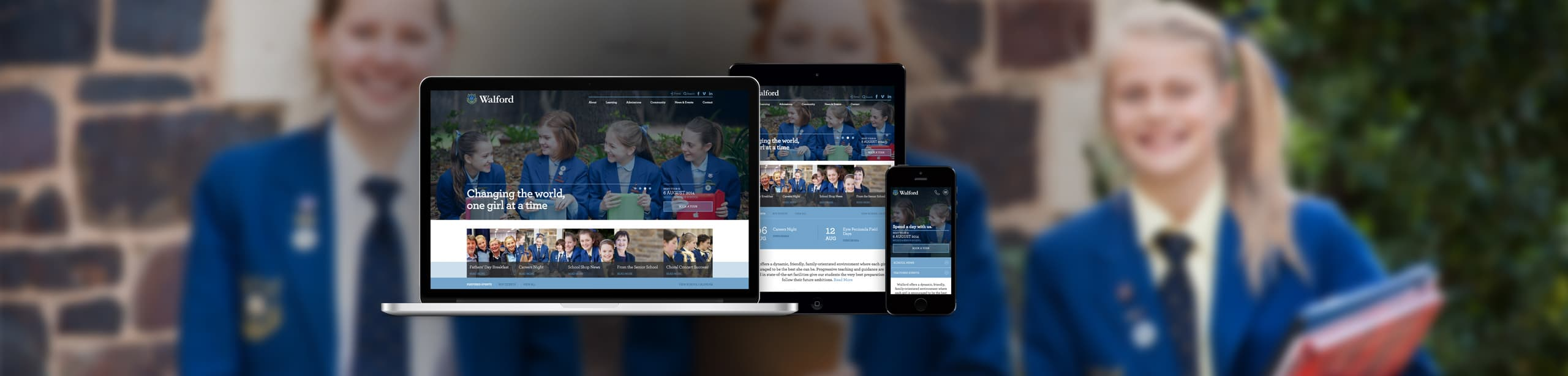 Walford Anglican Girls School - Website